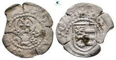 World Coins - Moldova. Stefan cel Mare AD 1457-1504. Type IIb Groschen AR