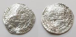 World Coins - Abbasid 1/2 AR Madinat al-Salam AH639