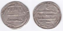 World Coins - Abbasid AR al-Abbasiya AH171