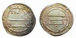 World Coins - Abbasid AR Madinat al-Salam AH 148 Al-Mansur