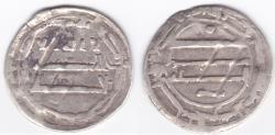 World Coins - Abbasid AR Al-Abbasiya AH166