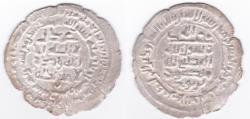 World Coins - Samanid AR Samarqand AH365