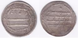 Ancient Coins - Abbasid AR Balkh AH184 *