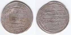 World Coins - Abbasid AR Ma'din al-Shash AH190