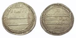 World Coins - Abbasid AR Al-Muhammadiya AH 186 Al-Rashid