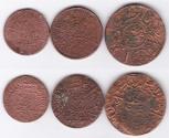 World Coins - Hajaz Set of 3 coins 1, 1/2, 1/4
