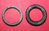 Ancient Coins - Lot comprising 2 Celtic ring Proto money - 8-5.Cent. BC