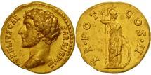 Marcus Aurelius, Aureus, Rome, AU(55-58), Gold, RIC:435b