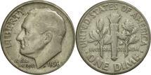Us Coins - United States, Roosevelt Dime, Dime, 1956, U.S. Mint, Philadelphia, AU(55-58)