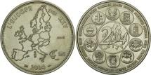 World Coins - France, Medal, L'Europe des XXV, Politics, Society, War, 2004, MS(63), Nickel