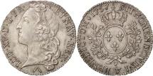 World Coins - France, Louis XV, 1/2 Écu au bandeau, 1/2 ECU, 44 Sols, 1757, Lille, MS(64)