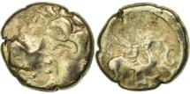 Carnutes, 1/4 Stater, VF(30-35), Gold, Delestrée:manque.