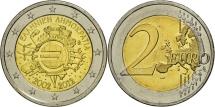 Greece, 2 Euro, 10 years euro, 2012, MS(63), Bi-Metallic