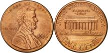 Us Coins - United States, Lincoln Cent, Cent, 1996, U.S. Mint, Philadelphia, AU(55-58)