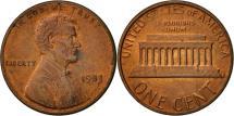 Us Coins - United States, Lincoln Cent, Cent, 1983, U.S. Mint, Philadelphia, AU(50-53)