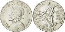 World Coins - Panama, Balboa, 1947, MS(63), Silver, KM:13