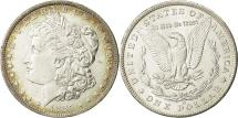 Us Coins - United States, Morgan Dollar, Dollar, 1885, U.S. Mint, New Orleans, AU(55-58)