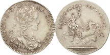 World Coins - France, Token, Royal, Louis XV, AU(50-53), Silver, Feuardent:13194