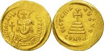 Heraclius, Solidus, Constantinople, AU(50-53), Gold, Sear:731