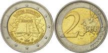 World Coins - Belgium, 2 Euro, Traité de Rome 50 ans, 2007, MS(63), Bi-Metallic