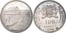 World Coins - Coin, DAHOMEY, 100 Francs, 1971, MS(63), Silver, KM:1.3