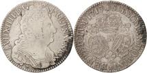 World Coins - France, Louis XIV, 1/2 Écu aux 3 couronnes, 1713, Montpellier, KM 382.12