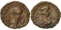 Ancient Coins - Coin, Vabalathus and Aurelian, Tetradrachm, 271-272, Alexandria, VF(30-35)