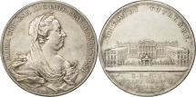 World Coins - Belgium, Medal, Maria Theresa, Construction of the Justice Palace in Brussels