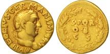 Vitellius, Aureus, Rome, VF(20-25), Gold, RIC:82