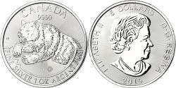 World Coins - Coin, Canada, Grizzly, 5 Dollars, 2019, Royal Canadian Mint, Proof,