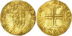 World Coins - Coin, Portugal, Sebastian I, Cruzado, Lisbon, , Gold