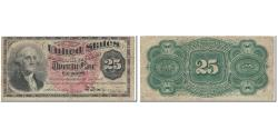 Us Coins - Banknote, United States, 25 Cents, 1863, 1863-03-03, KM:3337, VF(20-25)