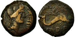 Ancient Coins - Coin, Spain, Semis, Carteia, VF(20-25), Copper