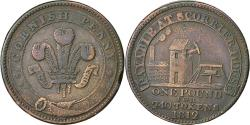 World Coins - Coin, Great Britain, Cornwall, Scorrier House, Penny Token, 1812, VF(30-35)
