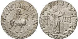 Ancient Coins - Coin, Indo-Scythian Kingdom, Azes I, Azes I, Indo Scythians, Tetradrachm