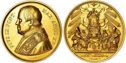 World Coins - Vatican, Medal, Pie IX, Siège Pontifical, 1860, Bianchi, , Gold