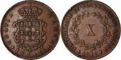 World Coins - Coin, Portugal, Maria II, 10 Reis, 1842, , Copper, KM:481