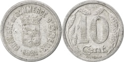 World Coins - France, 10 Centimes, 1921, , Aluminium, Elie #10.2, 1.43