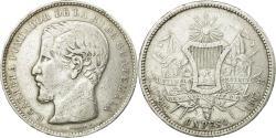 World Coins - Coin, Guatemala, Rafael Carrera, Peso, 1867, , Silver, KM:186.1