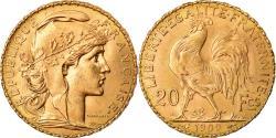 Ancient Coins - Coin, France, Marianne, 20 Francs, 1909, Paris, , Gold, KM:857
