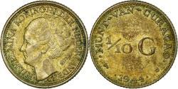 World Coins - Coin, Curacao, 1/10 Gulden, 1944, Denver, USA, , Silver, KM:43