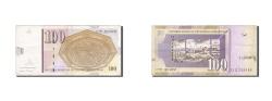 World Coins - Macedonia, 100 Denari, 2008, KM #16a, EF(40-45), 328688