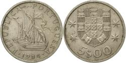 World Coins - Coin, Portugal, 5 Escudos, 1984, , Copper-nickel, KM:591