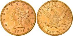 Us Coins - Coin, United States, Coronet Head, $10, Eagle, 1881, U.S. Mint, Philadelphia