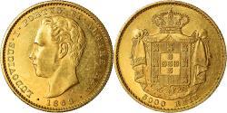 World Coins - Coin, Portugal, Luiz I, 5000 Reis, 1868, , Gold, KM:516