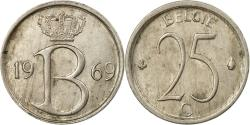 World Coins - Coin, Belgium, 25 Centimes, 1969, Brussels, , Copper-nickel, KM:154.1