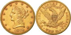 Us Coins - Coin, United States, Coronet Head, $10, Eagle, 1899, U.S. Mint, Philadelphia