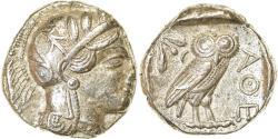 Ancient Coins - Coin, Attica, Athens, Tetradrachm, 454-404 BC, Athens, , Silver