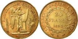 World Coins - Coin, France, Génie, 20 Francs, 1893, Paris, , Gold, KM:825