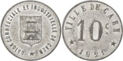 World Coins - France, 10 Centimes, 1921, , Aluminium, Elie #10.2, 1.06